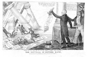 Political Cartoon About Andrew Jackson
