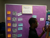 QR Code your vocabulary stations