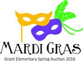 Grant Mardi Gras Auction Dinner - Last day to get tickets is today! April 4