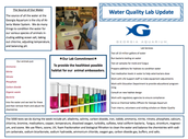 Department Spotlight: Water Quality