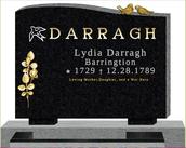 Lydia Darraghs Monument