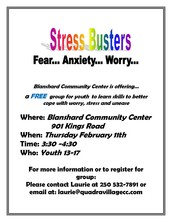Stress Busters Youth Group