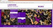 """When you get to the Lakeview Homepage, hover over """"About Our School,"""" then """"Media Center,"""" then click on research."""