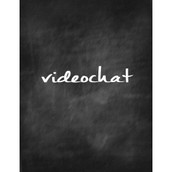 Videochat conversation one to one