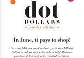 June Dot Dollars!!