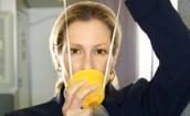מסיכות חמצן במטוס