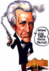 Political Cartoon - National Bank