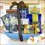 Monthly Free Gift Basket Drawing