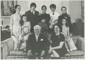 His huge family