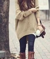 Suéteres de lana de sólo un color