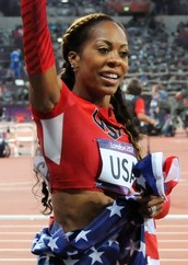 Sanya Richards is the most influential female athlete.