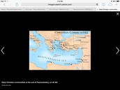 Christianity world Map