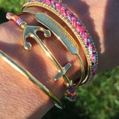 Color and bracelets...yes please!