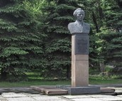 Бюст Е. И. Дроздецкого