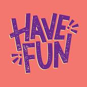 Our Fun Days Next Week: