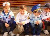 Pre Kinder en Asamblea Medios de Transporte