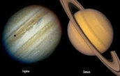 Saturn is the second biggest planet in the solar system next to Jupiter.