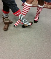 Holiday Sock Thursday - Guess Who?