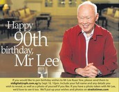 HAPPY BIRTHDAY MR LEE !!!!!