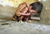 El hambre de un niño