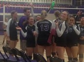 Volleyball Bows Out of NCS Playoffs