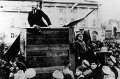 November 1917- Vladimir Lenin's Bolshevik party