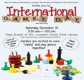 International Games Day!