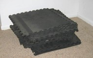 2 x 2 Cusioned Exercise Tile Pads - 20 Pieces