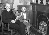 Ben Chifley and his wife