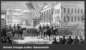 Union Soldier Entering Savannah