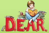 """""""DEAR"""" - Drop Everything and Read! February 24th at 2:15pm"""