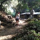 Hiking at Hermit Falls