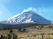 Vulkaan en natuur