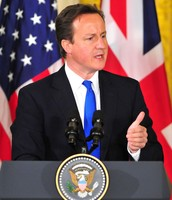 DAVID CAMERON IN THE WHITE HOUSE
