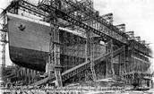 When was the Titanic built?