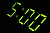 ¿A que hora te levantaste?