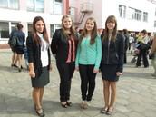 Даша, Вика, Катя и Алина