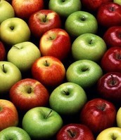 Apples a healthy choice of fruit.