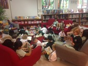 Year 1's Practise 'Silent Reading'