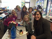 Special lunch with Ms. Gebhard