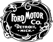 Fords First Logo