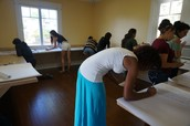 SPAN 397 class- at La Casita Cultural Latina-Stetson University