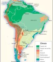Climates of Latin America