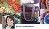 Purple Penguins Design