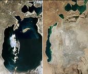 Where did the Aral Sea go?