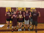 8th  Grade Dodgeball Winners