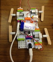 Popsicle Stick Rover