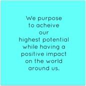 Purpose Driven Designers Mission Statement