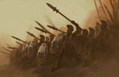 Sparta had a very strong military
