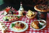 Italian and Greek Food